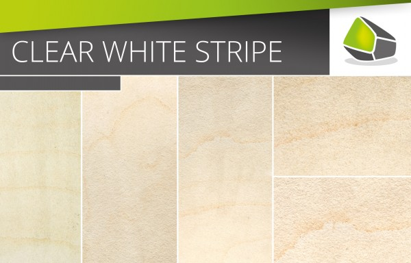 Clear White Stripes - ROCK